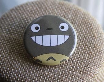 Totoro Button, My Neighbor Totoro Button, Studio Ghibli Button