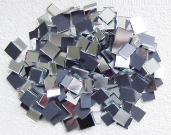 YK * 100grams MIRROR Bits and Pieces 3mm thick