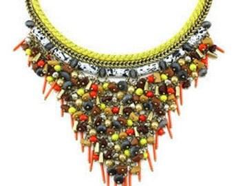 Luxury Zingy Beaded Choker Necklace