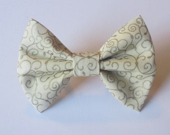 Gold Filigree Bow Tie- All Sizes
