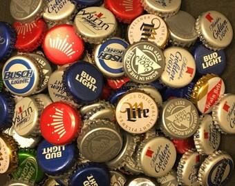 50  beer bottle caps no dents
