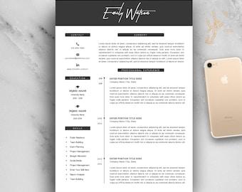 fashion resume templates