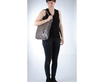 Shopper 'Caroline' bise shoulder flap bag