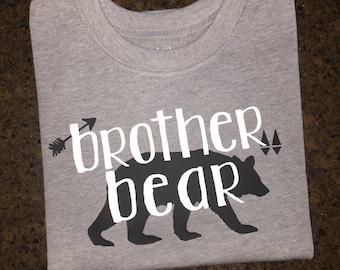 Toddler Brother Bear Shirt, Little Bear Shirt, Baby Bear Shirt, Man Cub Shirt, Mama Bear Shirt, Mom and Me Shirts, Matching Shirts