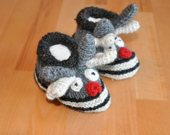 Baby boots Rudi the reindeer