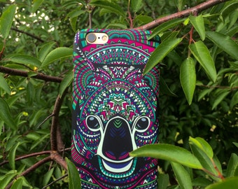 Koala Phone Case,  Animal Phone Case , Exotic Cases, iPhone 5/5s/5SE/6/6s/6+/6s+/7/7+ , Samsung S5/S6/S6E/S7/S7E