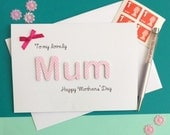 Mothers' Day Card - Mum Card - Mothers Day Card - Mom Card - Nanna Card - Grandma Card - Nanny Card - Happy Mother's Day - Mothers Day