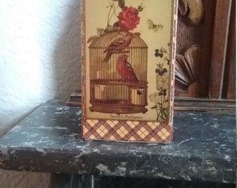 Decorative matchbox