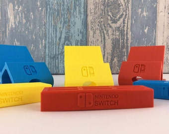 3D Printed Nintendo Switch Charging stand & Cartridge Dock!  Great Gamer's Gift Combo