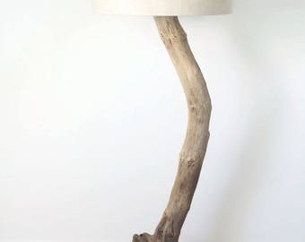 lamppost in Driftwood - slow deco - creating unique 55cm