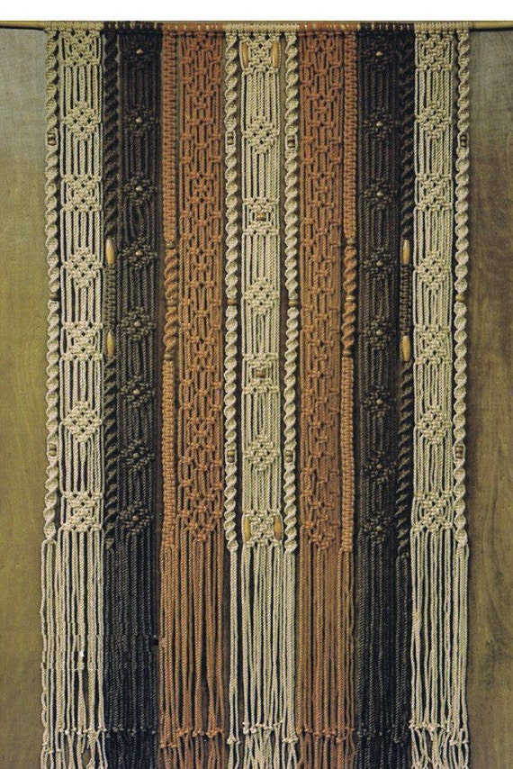 Macrame Wall Hanging Pdf Pattern Book Digital Download