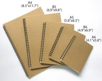 30% OFF Coupon - Dot Grid Notebook (Coil-bound). Excellent for Planners and Bullet Journals. High quality 90 GSM paper.
