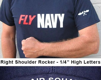 "Aviation Structural Mechanic (AM) - US Navy ""FLY Navy T-Shirt"""
