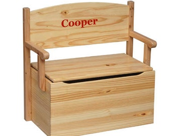Litte Colorado Bench Toy Box