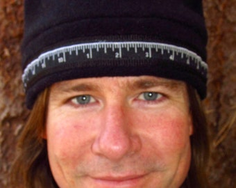 Stylish and Warm Fleece Hat (Color - Black)  Size-Large