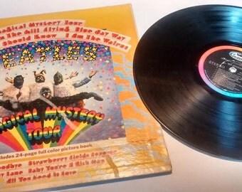 Vintage Beatles Magical Mystery Tour LP 1967