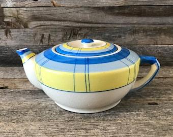 Vintage Mid Century Porcelain Teapot