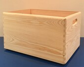 Reduced Price!!  very slight second Wooden Crate. Stackable box. Storage crate. Stackable crate . Size 40x30x23cm