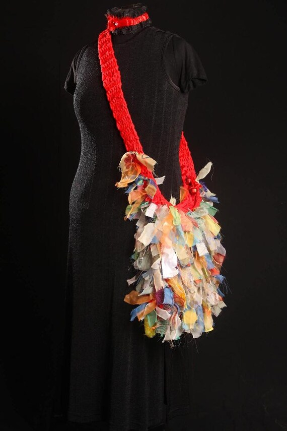 Ugly Bag - Multi-colour in Chiffon and Nylon