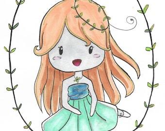 Ballerina Leaf Chibi~