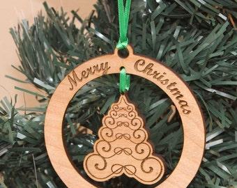 Keepsake Ornament - Victorian Christmas Tree