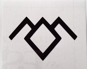 Twin Peaks Owl Cave vinyl sticker