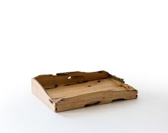 Pocket Contents Tray in Briccola Wood