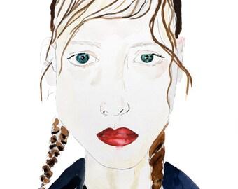 Girl - Fine Art Print