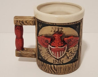 Napcoware 1792 Inn Mug/Stein, Napcoware 1792 Inn Eagle Mug, Napcoware 1792 Inn Barware Drinkware, Collectible Mugs Steins Barware Drinkware