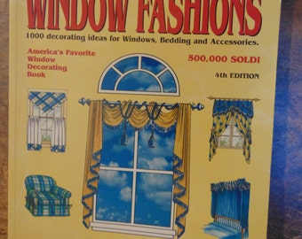 The Encyclopedia of Window Fashions Book  1997  OOP