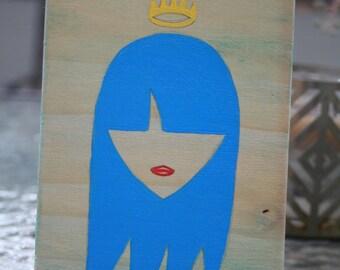 Rock Girl - Blue Queen