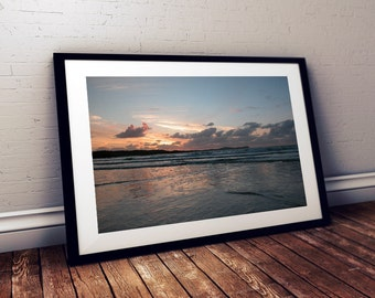 Donegal Art Print - Ireland Art - Poster - Irish - Carrickfin Beach - Annagry - Photography Art - Life Love Quotes - Digital Print