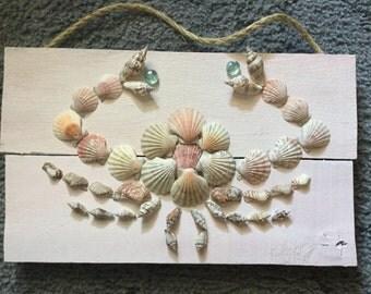 Sea shell crab