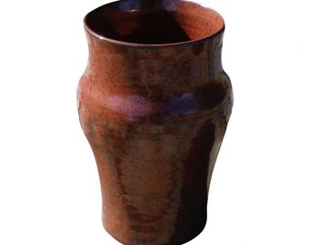 Red Handcrafted Vase