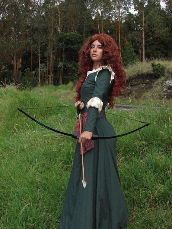 Merida Inspired Brave Cosplay Costume
