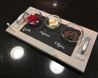 Chalkboard Wooden Serving Trays