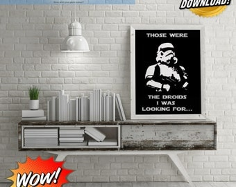 Those Were The Droids I Was Looking For Storm Trooper Digital Art!