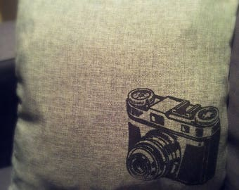 Camera Cushion Cover