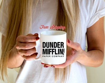 The Office, Dunder Mifflin Mug, Michael Scott