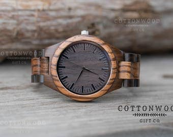 Gifts for Him, Wooden Watch, Husband Gift, Boyfriend Gift, Mens Wood Watches, Groomsmen Gifts, Mens Gift, Gifts for Dad, Groomsman Gift