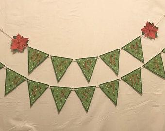 Banner MERRY CHRISTMAS printable