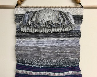 Winterscape Woven Wall Hanging