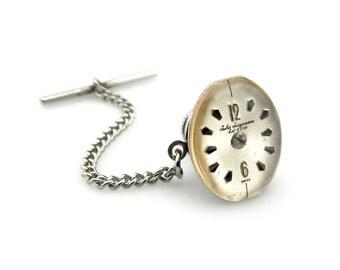Jules Jurgensen lapel pin - Clockworks Lapel Pin - Geekery Lapel Pin - Techie Lapel Pin - Gadget Lapel Pin - Watch Lapel Pin