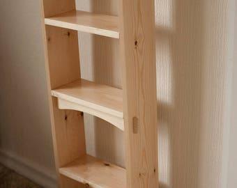 Shaker Style Book Shelves