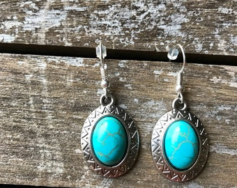Southwestern Turquoise Earrings