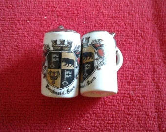 Minature Steins Salt and Pepper Collectibles