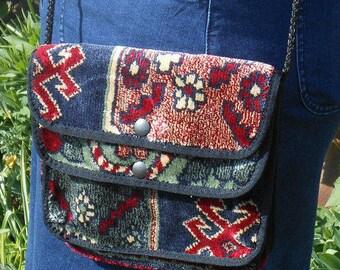 Vintage Carpet Bag | Carpet Bags of Suffolk | Small Shoulder Bag