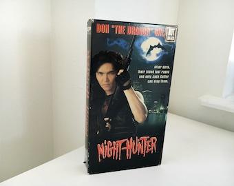 Night Hunter (1995) Original Unrated VHS ( Horror)