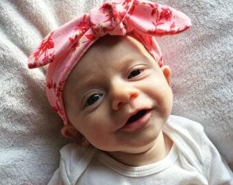 Tie Headband - Newborn-18m