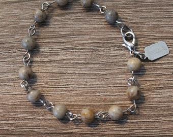 SINIGUAL Handmade Feldspar Bracelet